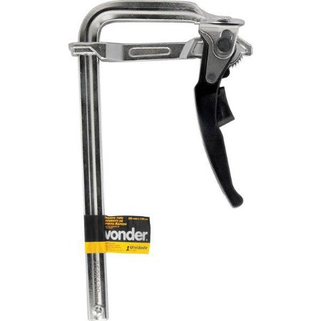 VONDER - Grampo Sargento Aperto Rápido - 250 x 120mm