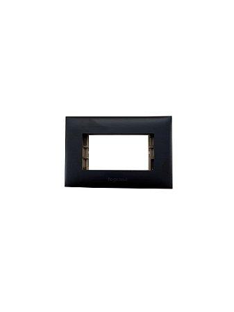 Legrand - PIAL Plus+ - Placa p/ Móvel - 1 Posto - Preto - 618519PT