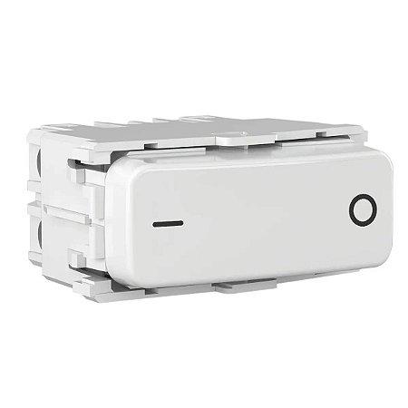 WEG - Composé - Módulo Interruptor Bipolar Simples - 10A 250VCA - Branco
