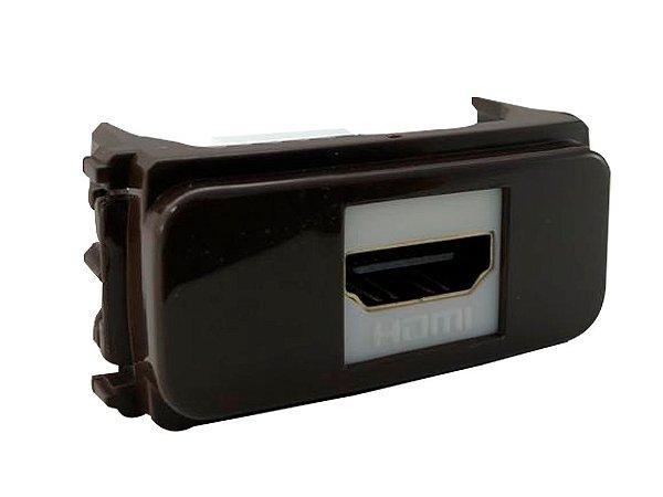WEG - Composé - Tomada de Comunicação HDMI - Marrom