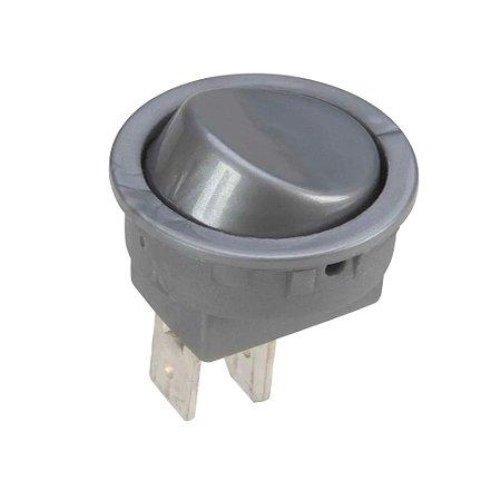 Artetílica Nuze - Interruptor Gota - Cinza - N01.01