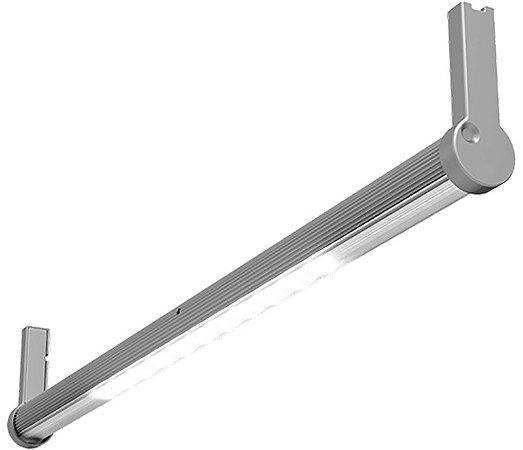 Artetílica Nuze - Luminária Cabideiro Circular Sensor Move - LED SMD 3000K - 12V 1200mm Alumínio - CAB302.80.1200A