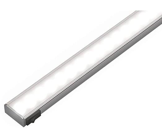 Artetílica Nuze - Luminária Slim Sobrepor Interruptor - Super LED 5000K - 12V 1000mm Alumínio - KA552.85.1000A