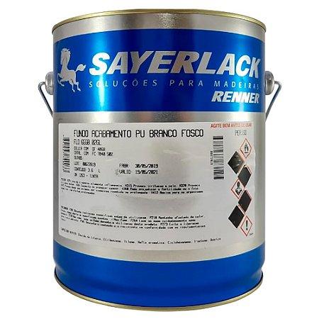 Sayerlack - Fundo Acabamento PU Branco Fosco - 3,60L - FLO.6558.02GL