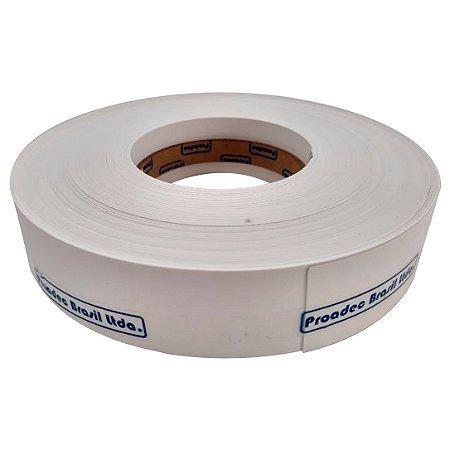 Proadec - Fita de Borda - Branco TX 1101 - 035mm x 50M - PERFIL PVC PC ST