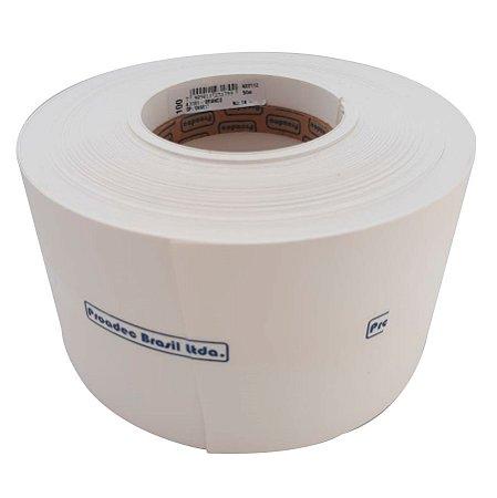 Proadec - Fita de Borda - Branco TX 1101 - 100mm x 50M - PERFIL PVC PC  ST