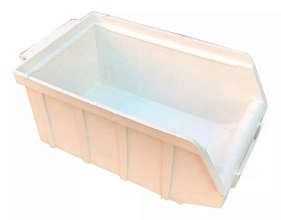 SK Plásticos - Gaveta Plástica Bin N°.3 (7,5 x 10,6 x 18 cm) Branca