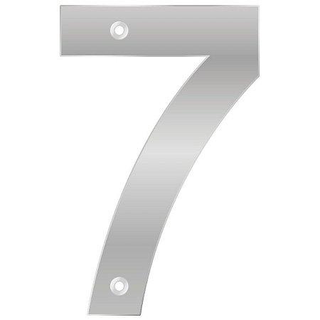 Bemfixa - Número Residencial ABS 7 - Alumínio - 145mm