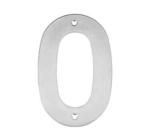 Bemfixa - Número Residencial em Inox - 0 - 145mm