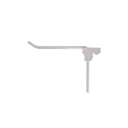 DiCarlo - Gancho Simples Branco 4mm - 05cm - 0402FPA01.0003