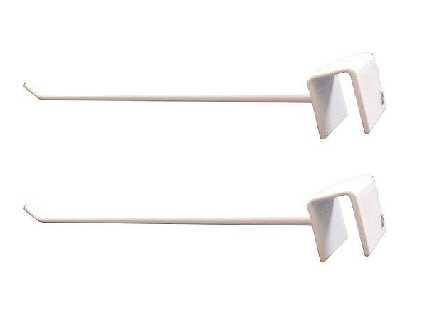 DiCarlo - Gancho p/ Barra Reta Branco 10 x 20 - 20cm - Embalagem com 2 unidades - 1116FPA01.0014