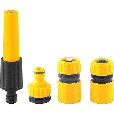 VONDER - Esguicho Plástico c/ Jato Regulável + Acessórios