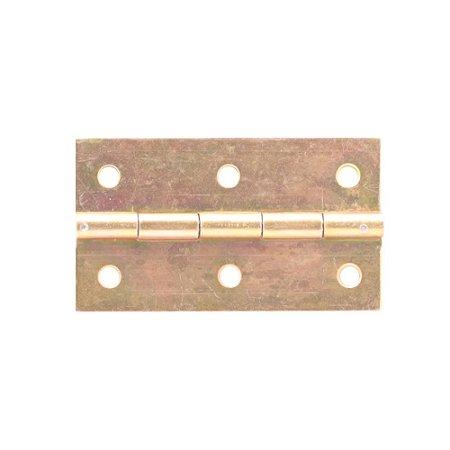 Alutec - Dobradiça p/ Móveis 2200 Pino Fixo - 2 1/2 Bicromatizado