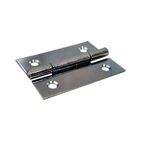 Gubler - Móveis 555 - 38 x 26mm Dobradiça de Ferro Zincado