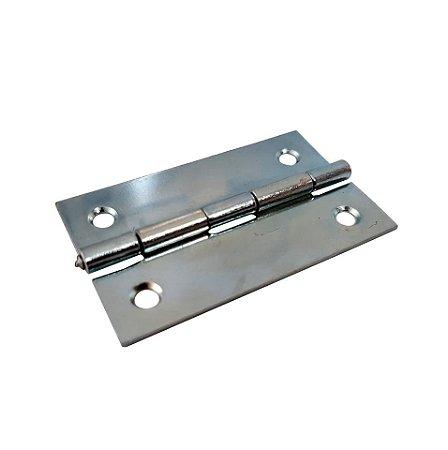 Gubler - Móveis 555 - 49 x 30mm Dobradiça de Ferro Zincado