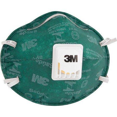 3M - Mascara EPI - Respirador Valvulado 8822 PFF2 Verde