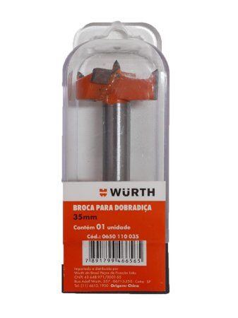 WURTH - Broca para Dobradiça - 35mm
