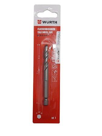 WURTH - Broca Geometrik 8mm