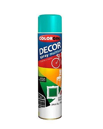 Colorgin - Tinta Spray Decor 360ml - Azul Céu - 8631