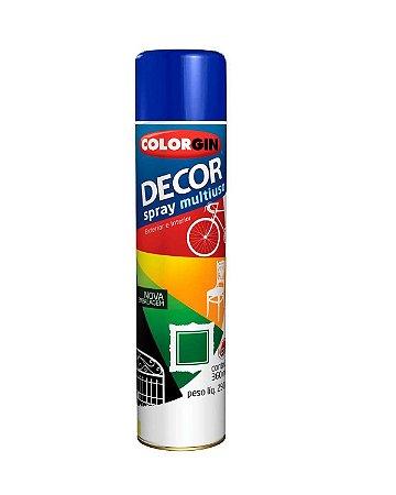 Colorgin - Tinta Spray Decor 360ml - Azul Colonial - 8611