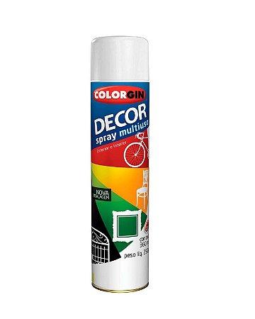 Colorgin - Tinta Spray Decor 360ml - Branco Brilhante - 8641