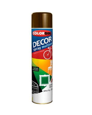 Colorgin - Tinta Spray Decor 360ml - Café - 8821