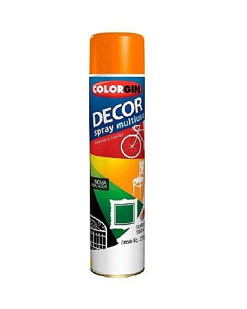 Colorgin - Tinta Spray Decor 360ml - Laranja - 8831