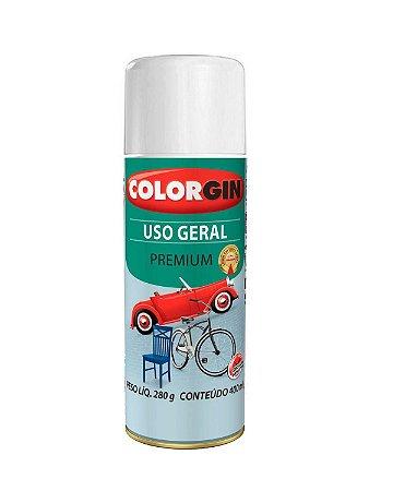 Colorgin - Tinta Spray Uso Geral Premium 400ml - Branco Geladeira (1312)