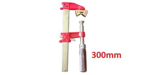 """JAB Tools - Sargento Barra Chata """"F"""" com Prisma 0.300mm SGT-018"""
