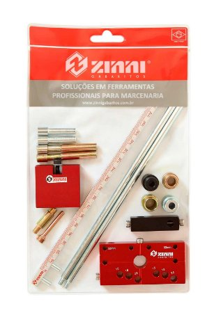 Zinni - Kit Bloco Flauta Escala (Bloco Flauta Escala + Escala + Kit Pinos/Buchas) - #5 (ZKIT5)