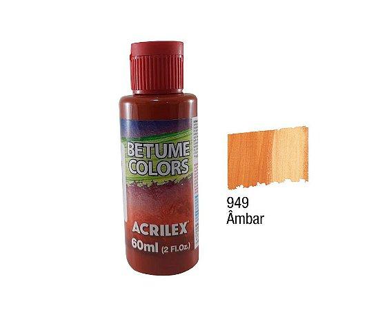 Acrilex - Betume Colors 60ml - Ambar (949)