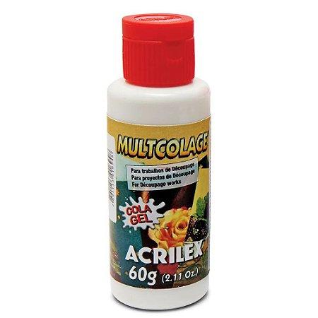 Acrilex - Cola Découpage Multcolage - 60g