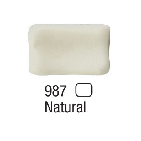 Acrilex - Massa p/ Biscuit  500g - Natural (987)