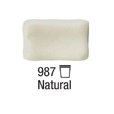 Acrilex - Massa p/ Biscuit 1kg - Natural (987)
