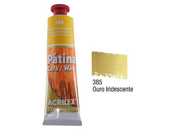 Acrilex - Patina em Cera 37ml - Ouro (385)