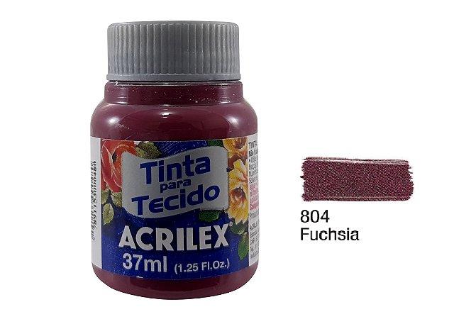 Acrilex - Tinta p/ Tecido Fosca 37ml - Purpura (550)