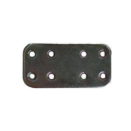Minutex - Placa de Junção 60 x 30mm - Aço Galvanizado