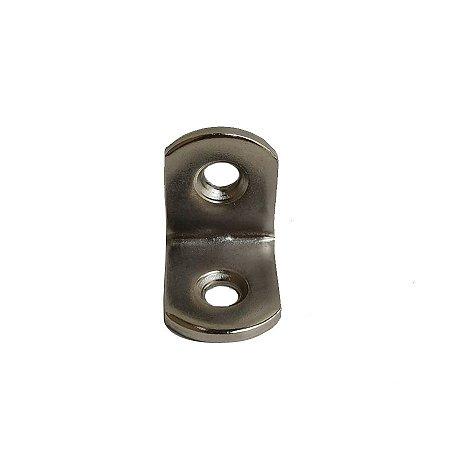 Minutex - Suporte p/ Prateleira 20 x 20mm - Aço Galvanizado