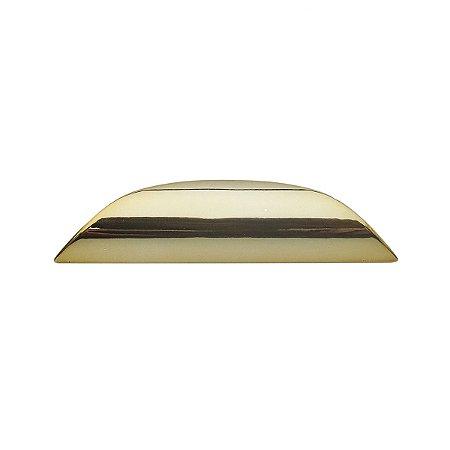 Criativa - Puxador Concha p/ Móveis - 104mm - Zamac - Dourado - 50.04.0011-44