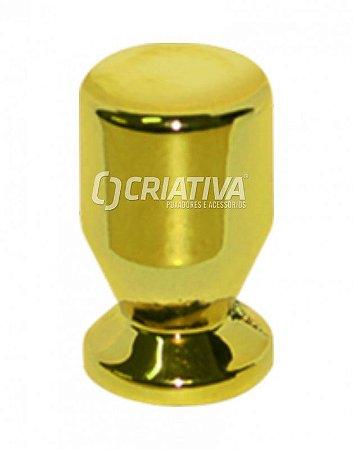 Criativa - Puxador Unifuro p/ Móveis - Dourado - Zamac - 50.04.0004-44