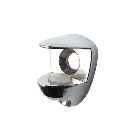 Hardt - Suporte Prateleira Vidro Regulável Cromada 6/10 CR F1204CR