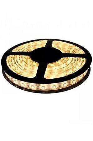 CdLi - Fita LED - 5050-W - Rolo 5M - Sem Silicone - Branco Quente