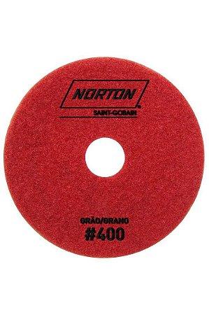 Norton - Disco Diamantado Brilho D'Água 100MM GRÃO 400 - 10 UN