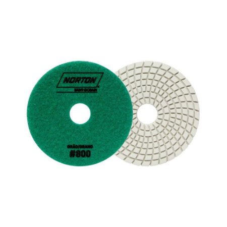 Norton Granel - Disco Diamantado Brilho D'Água 100MM GRÃO 800 - 1 UN