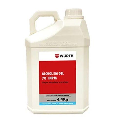 Wurth - Álcool em Gel 70° INPM - 4,4 Kg