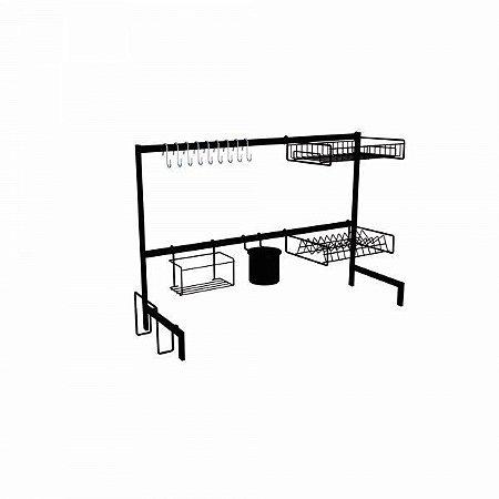 DiCarlo - Cozinha Autossustentável Elegance Preto - 82cm - 1190FPA06.0042