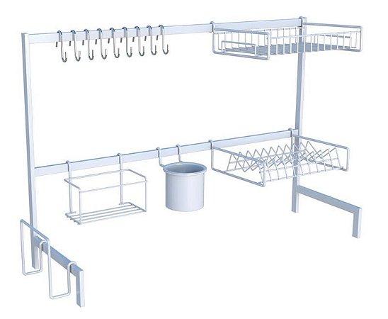 DiCarlo  - Cozinha Autossustentável 82cm Elegance Branco