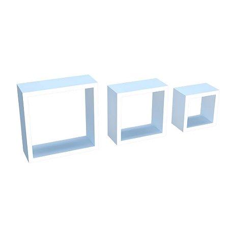 DiCarlo - Kit Nichos Decorativos Branco - 1171FPA01.0153