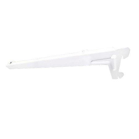 DiCarlo - Suporte Branco com Abas para Prateleira - 30cm Par - 0417FPA01.0042