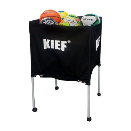 Carrinho Retrátil Para Transporte De Bolas Esportivas Kief